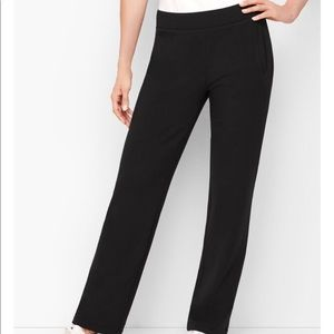 T by Talbots Relaxed Leg Slip On Pants- Large
